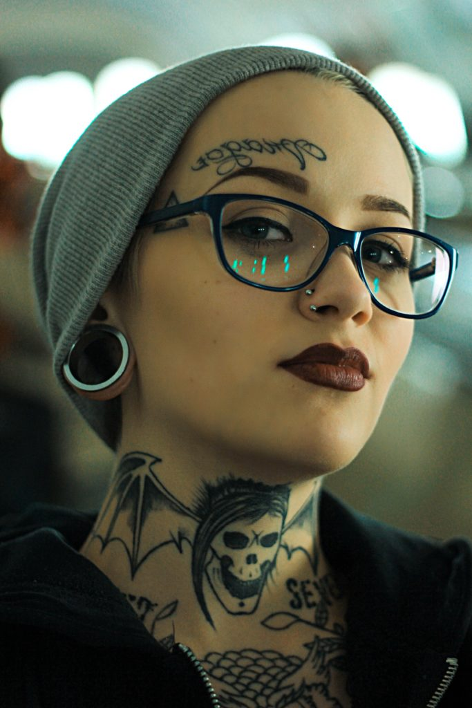 Tattoo Girl – Before